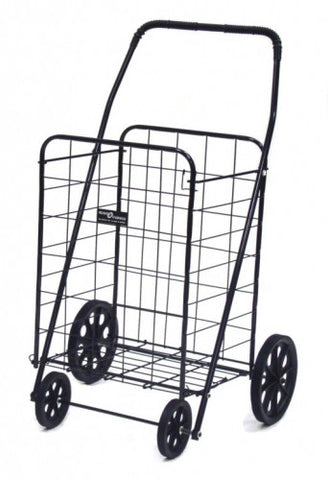 Black Narita™ Foldable Shopping Cart - Carts On The Go