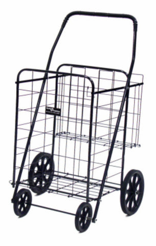 Narita™ Jumbo Plus Folding Shopping Cart w/Dual Baskets - Carts On The Go