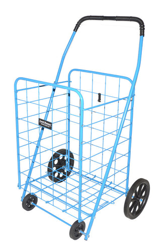 Blue Narita™ Jumbo Load Runner Shopping Cart