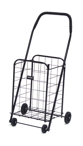 Black Narita™ Mini Load Runner Shopping Cart - Carts On The Go