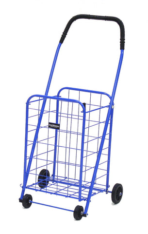 Blue Narita™ Mini Load Runner Shopping Cart - Carts On The Go