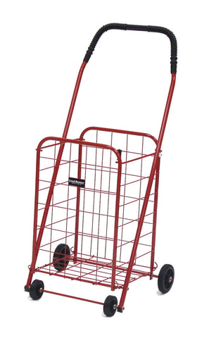 Red Narita™ Mini Load Runner Shopping Cart - Carts On The Go