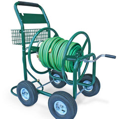 Four Wheel Liberty Hose Reel Cart - 350ft Capacity