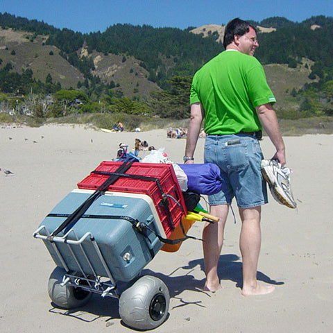 Wheeleez Folding Beach Cart - Carts On The Go
