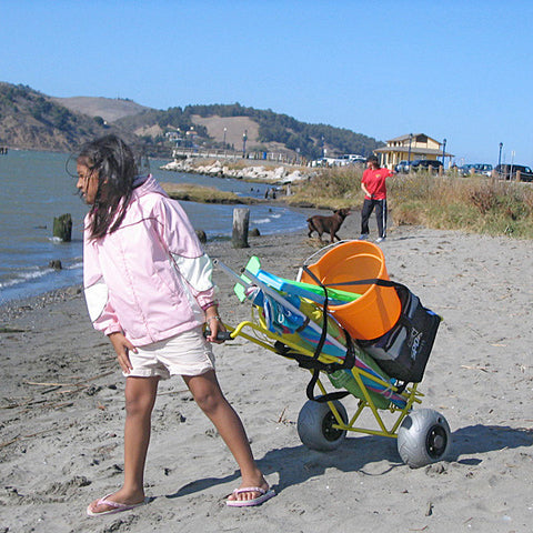 Wheeleez Mini Folding Beach Cart - Carts On The Go