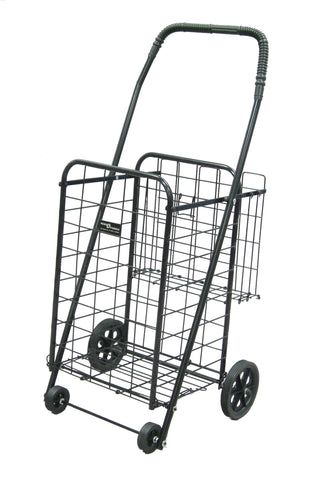 Black Narita™ Mini Plus Shopping Cart - Carts On The Go