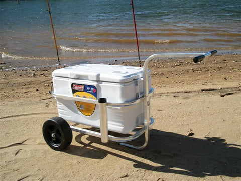 Reels on Wheels Aluminum Economy Cart - Carts On The Go