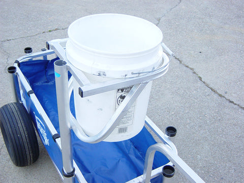 Reels on Wheels Bucket Holder