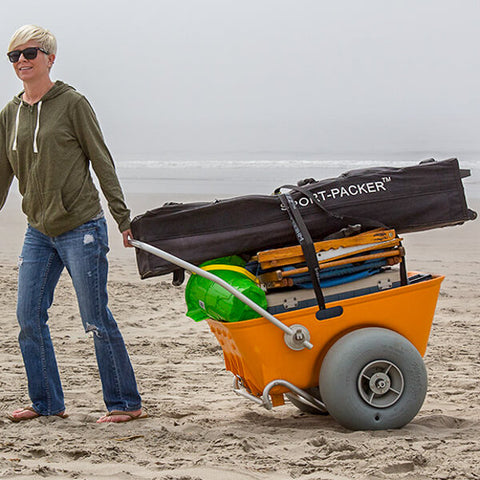 Wheeleez Beach Cart - Easy to Move