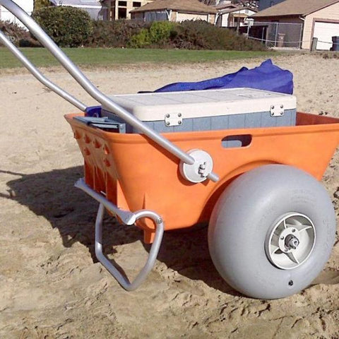 Wheeleez Beach Cart - Pictured with Cooler
