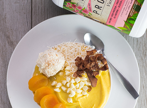 Mango Vanilla Smoothie Bowl
