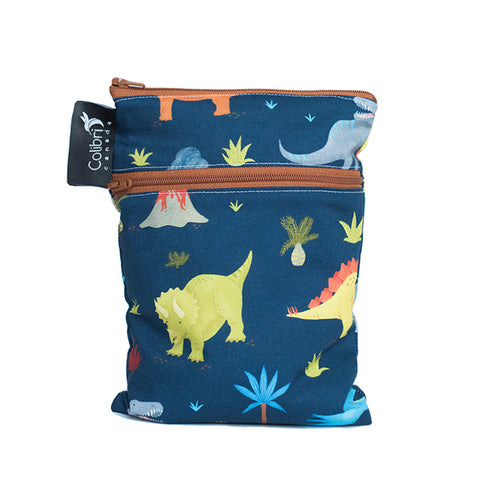 Dinosaurs Mini Double Duty Wet Bag