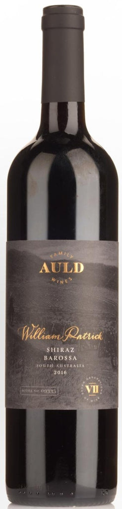 Auld Family Wines William Patrick Barossa Shiraz 2016