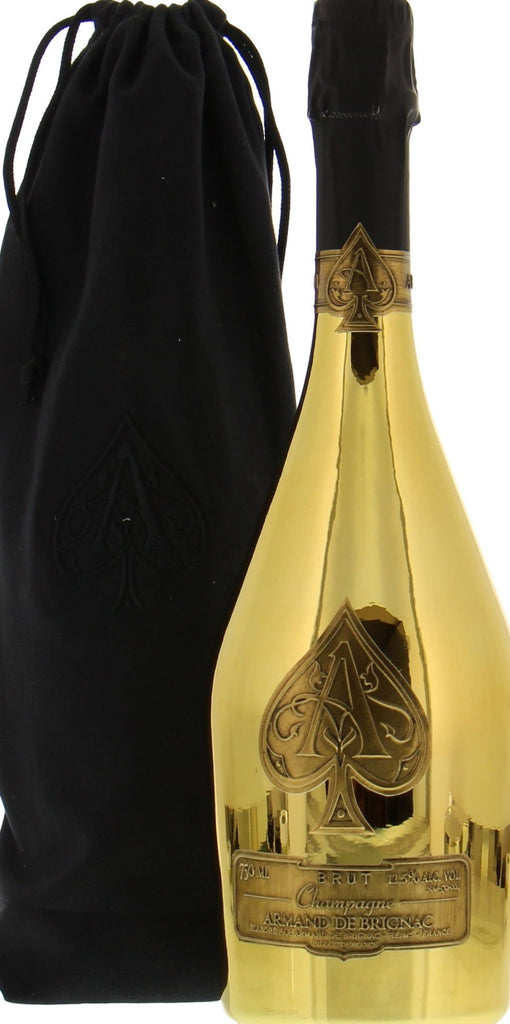 Armand de Brignac Ace of Spades Brut Gold 1.5L Magnum (velvet bag)