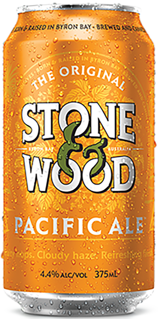 Stone & Wood Pacific Ale Cans *4X375ml* - Best Before 9/6/2021