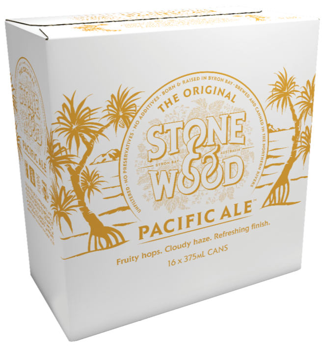 Stone & Wood Pacific Ale Cans *4X375ml*
