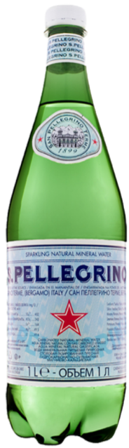 San Pellegrino Sparkling Natural Mineral Water (Plastic Bottle) - *12X1000ml*