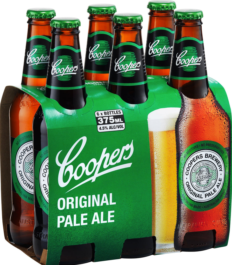Coopers Pale Ale 6PK  *6X375ml*