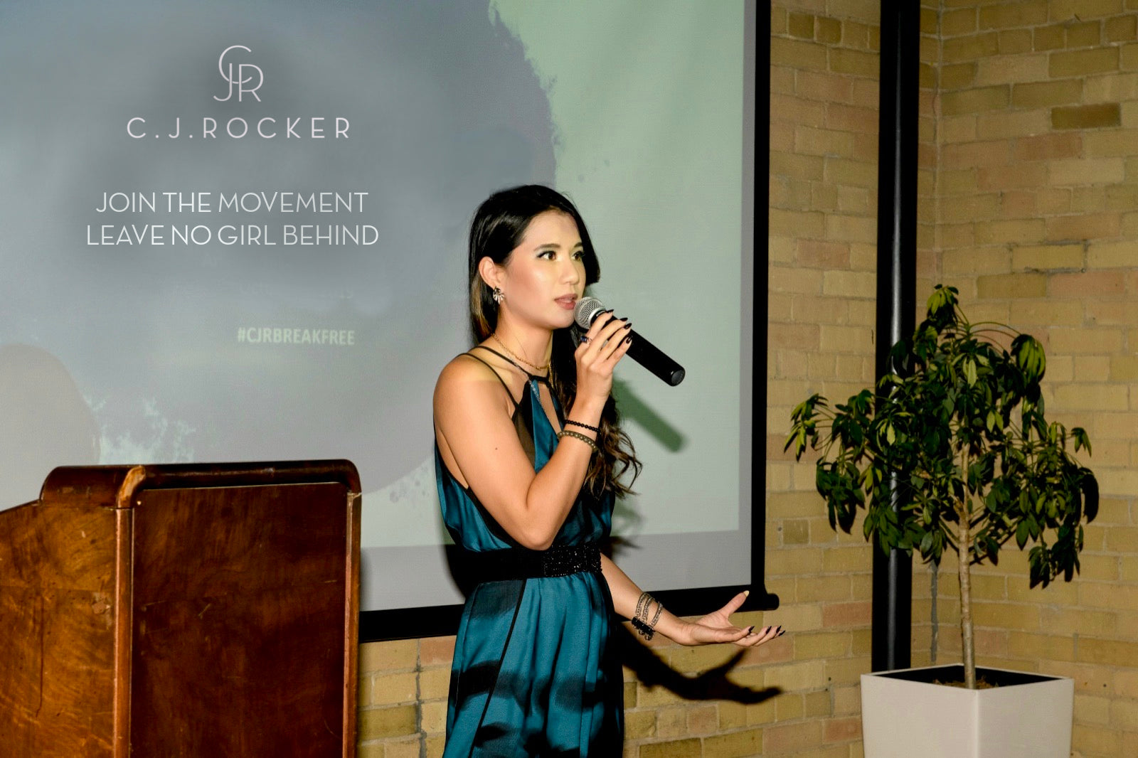 The C.J.ROCKER BREAK FREE Gala