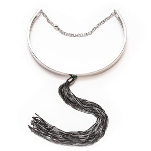 THE CHOKER SILVER - C.J.ROCKER