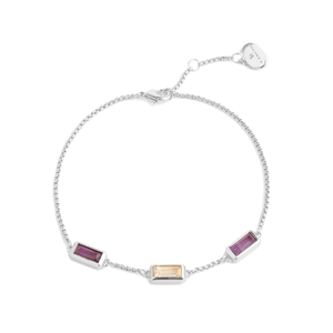 THE JANET BRACELET SILVER - C.J.ROCKER