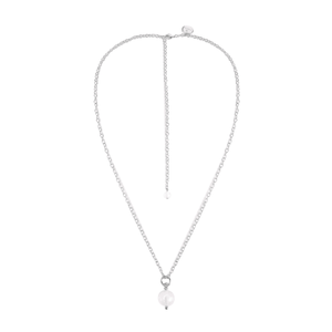 THE OBV NECKLACE SILVER - C.J.ROCKER