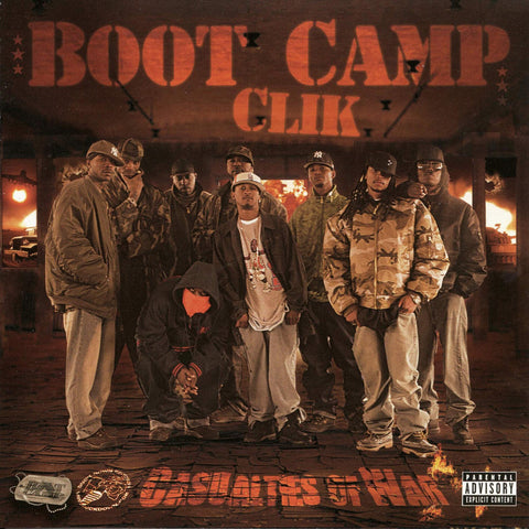 Boot Camp Clik - Casualties of War CD