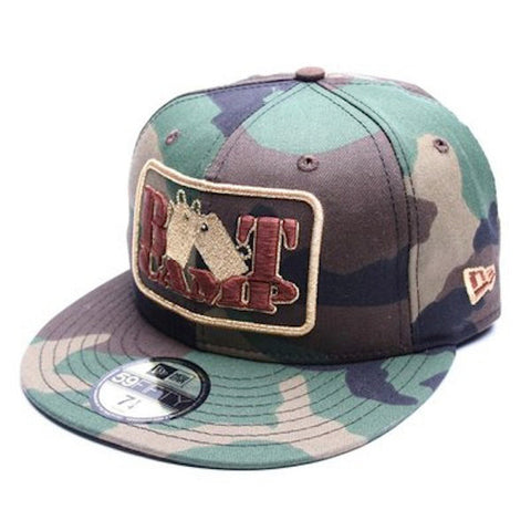 Duck Down Music Boot Camp Clik - Dog Tag New Era Camo Fitted Hat
