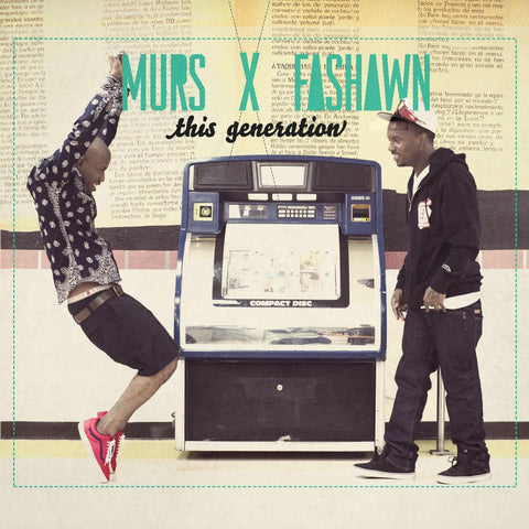 Murs X Fashawn - This Generation CD
