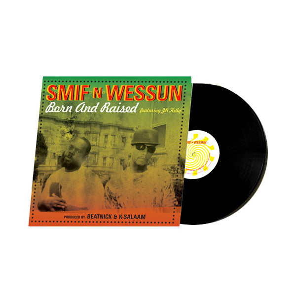 "Smif N Wessun - Born & Raised 7"" Vinyl LP"