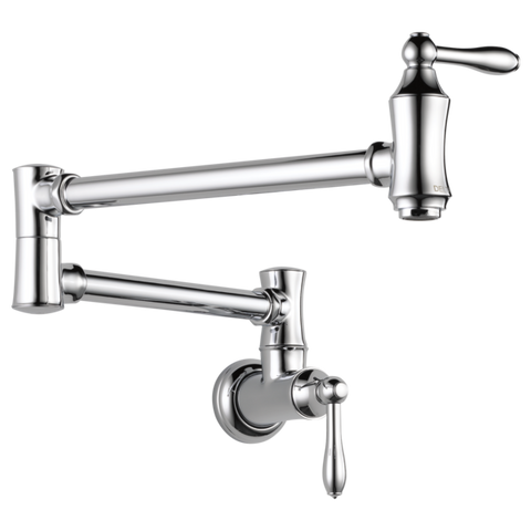 DELTA 1177LF Traditional Wall Mount Pot Filler