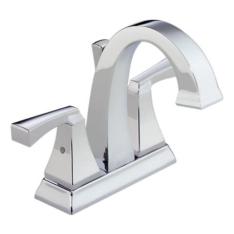DELTA 2551 Dryden™ Two Handle Centerset Lavatory Faucet - Metal Pop-Up