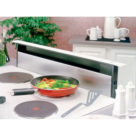 BROAN 283003 30-Inch Telescopic Downdraft System, 500 CFM, Stainless Steel