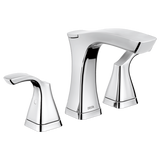 DELTA FAUCET 3552-MPU-DST TESLA® Two Handle Widespread Bathroom Faucet - Metal Pop-Up