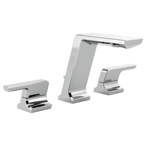 DELTA FAUCET 3599LF Two Handle Widespread Bathroom Faucet Pivotal™