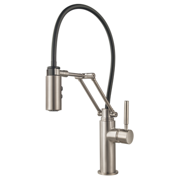 BRIZO 63221LF SOLNA® SINGLE HANDLE ARTICULATING KITCHEN FAUCET