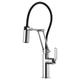 BRIZO 63244LF LITZE® ARTICULATING FAUCET WITH INDUSTRIAL HANDLE