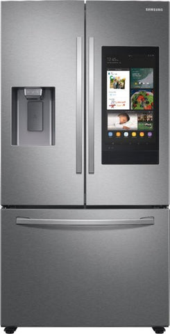 SAMSUNG 26.5 cu. ft.  3-Door French Door Refrigerator with Family Hub™  in Stainless Steel