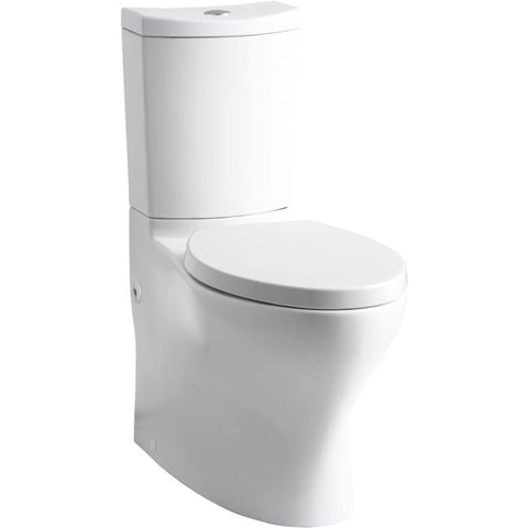 Kohler K-6355 Persuade® Curv Comfort Height®Two-piece elongated dual-flush toilet