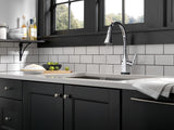 DELTA 9183T Mateo® Pull-Down Faucet with Touch2O® Technology