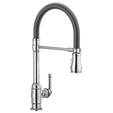 DELTA 9690T-DST Single Handle Pull-Down Kitchen Faucet with Touch2O Technology