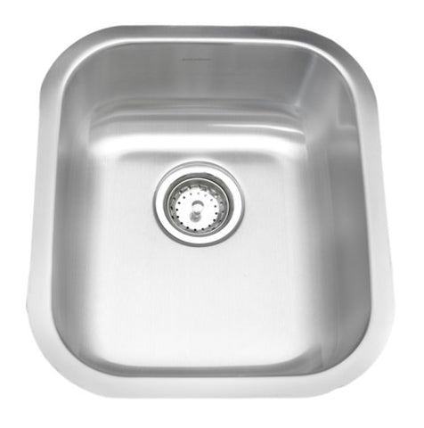 A/Sink Single Bowl Undermount Stainless Steel Bar Sink