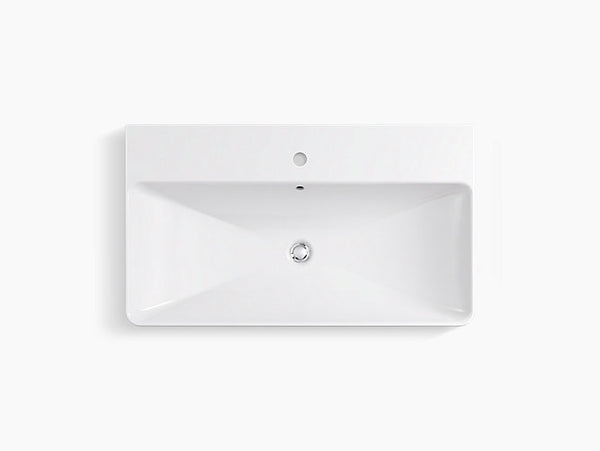 KOHLER K-2749-1-0 Vox® Rectangle Vessel bathroom sink 36""