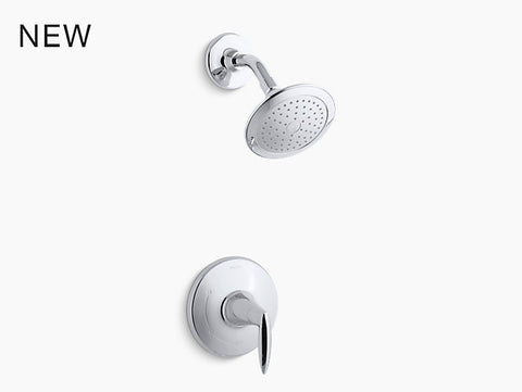 KOHLER K-TS45106-4 Alteo® Rite-Temp® shower valve trim with lever handle and 2.5 gpm showerhead