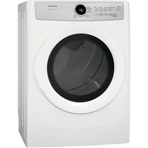 FRIGIDAIRE FDEX21E4EW FRONT LOAD ELECTRIC DRYER 8.0 CU FT