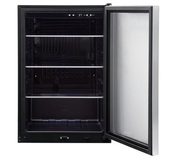 FRIGIDAIRE FFBC4622QS 138 12 oz. Can Capacity Beverage Center