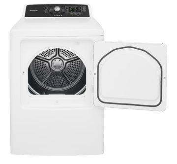 FRIGIDAIRE FFRE4120SW 6.7 Cu. Ft. Free Standing Electric Dryer