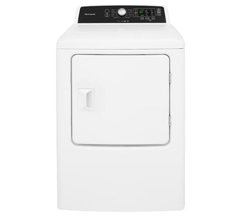 FRIGIDAIRE FFRG4120SW 6.7 Cu. Ft. Free Standing Gas Dryer