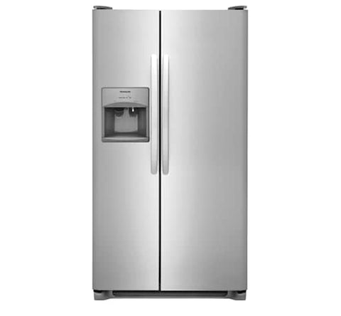Frigidaire FFSS2615TS 25.5 Cu. Ft. Side-by-Side Refrigerator