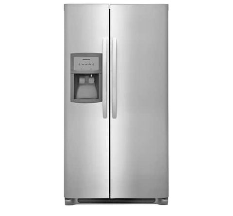 Frigidaire FFSS2625TS 25.5 Cu. Ft. Side-by-Side Refrigerator